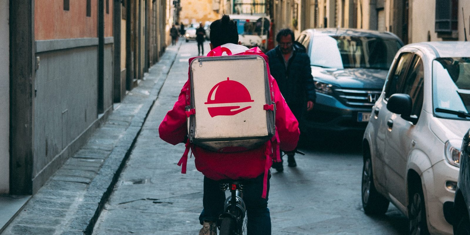 food delivery driver